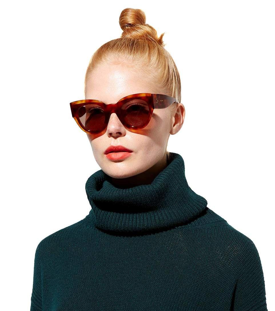 8e579b4f4212 Petra brown cat-eye sunglasses