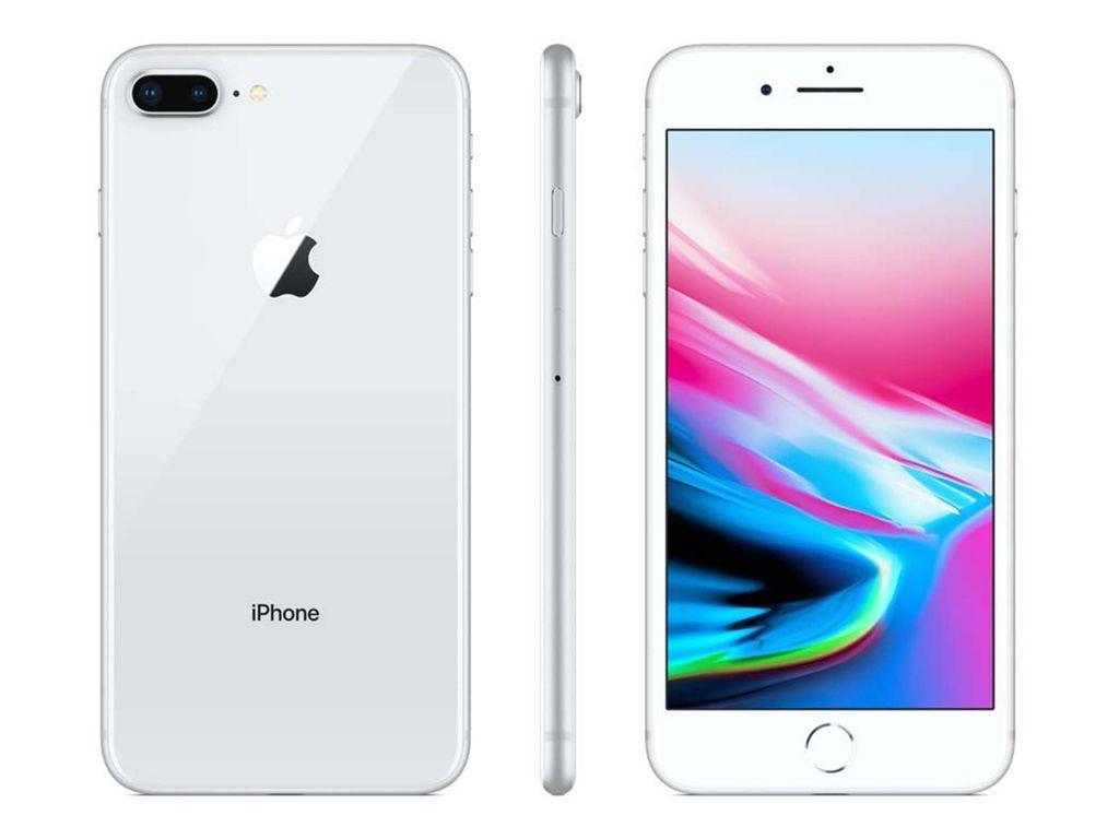 Apple Iphone 8 Plus 64gb Unlocked Silver Iphone Iphone 8 Plus Iphone 8