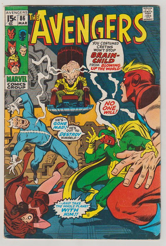 Vision and the Scarlet Witch #1 FN 1985 Stock Image