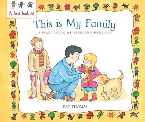 College hookup gay parents cartoon family portrait