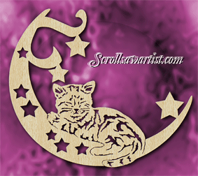Scroll Saw Patterns Cats Amp Dogs Domestic Cats Cat