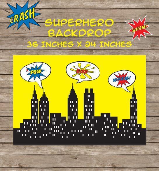 Free Superhero Party Printables A to Zebra Celebrations Batman