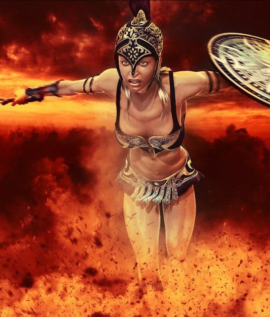 Bia Greek Goddess The Goddess Of Force Personification Of