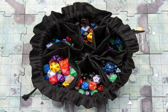 Please Allow 1 Week After Purchase For This Item To Be Made And Shipped Tired Of Having Dump Out Your Entire Bag Dice