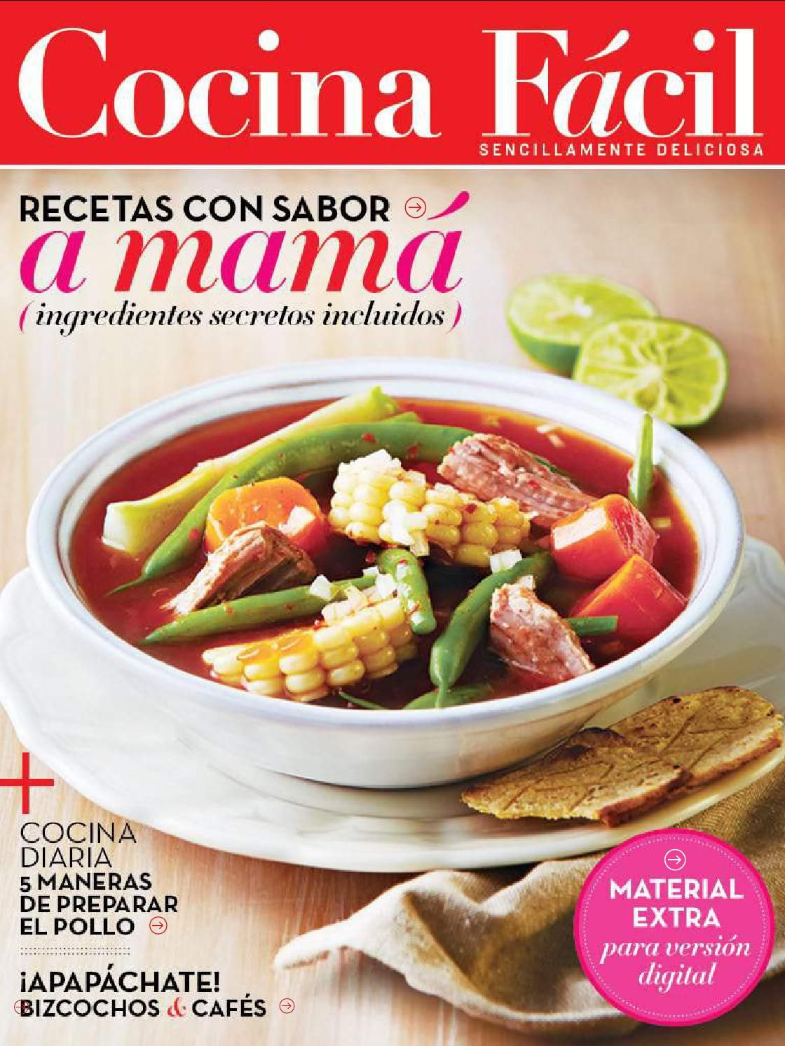 Cocina facil mayo 2015 libros thermomix pinterest cocina f cil cocinas y libros - Cocina facil y saludable thermomix ...