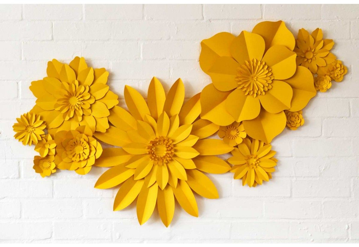 Buy Set of 13 giant handmade paper flowers | Party Time | Pinterest ...