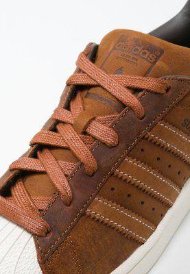 adidas superstar cuir marron