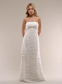 Lovely Kirstie Kelly Wedding Dress Silk Chiffon wedding bridal gown
