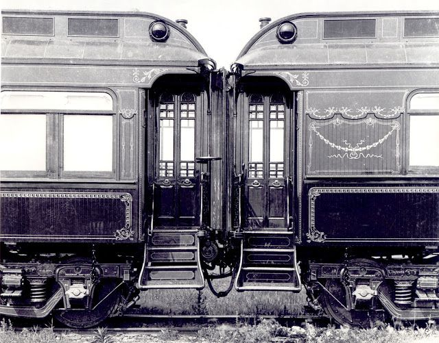 Just A Car Guy Pullman Train Cars The Epitome Of Luxury Palace Cars Superliners 284 Of These Sleeping Cars And Passen Pullman Train Train Car Old Trains