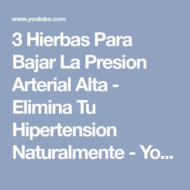 Eliminar la hipertensión
