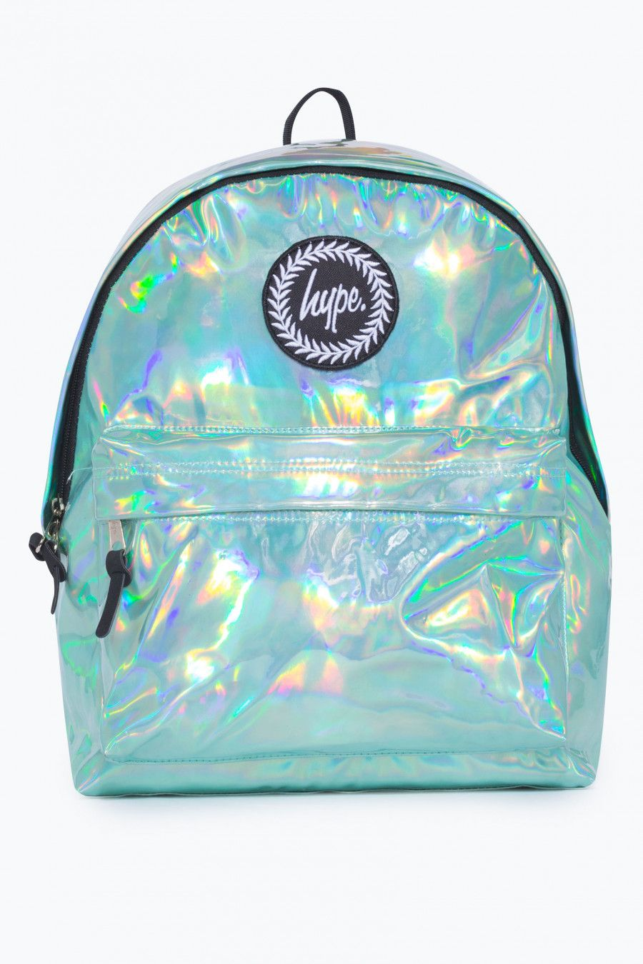 fb07f764834d HYPE MINT HOLOGRAPHIC BACKPACK