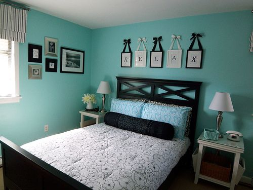Superieur Black White And Teal Bedroom Photo   2 In Beautiful Pictures Of Design U0026  Decorating U2013 Interior Housing