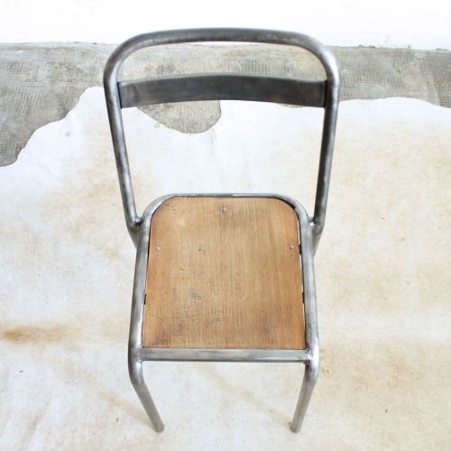 Chaise Vintage Style Tolix F382 Chaise Vintage Chaise Metal