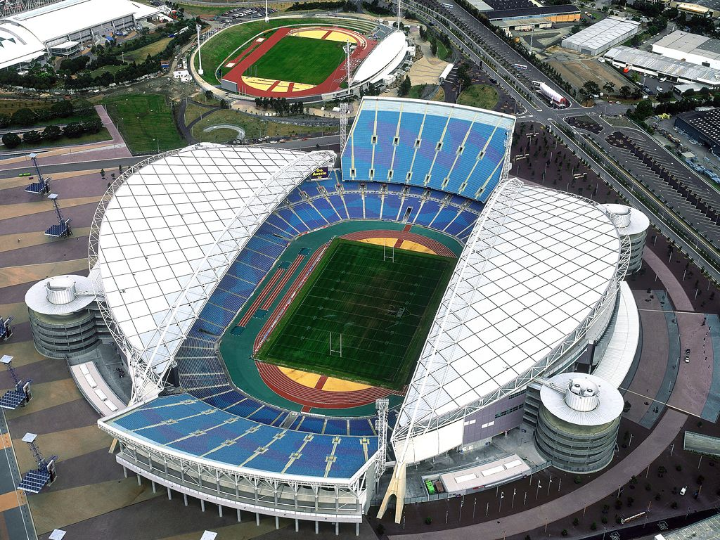 Sydney Olympic Stadium ANZ A Multi Purpose Located In The