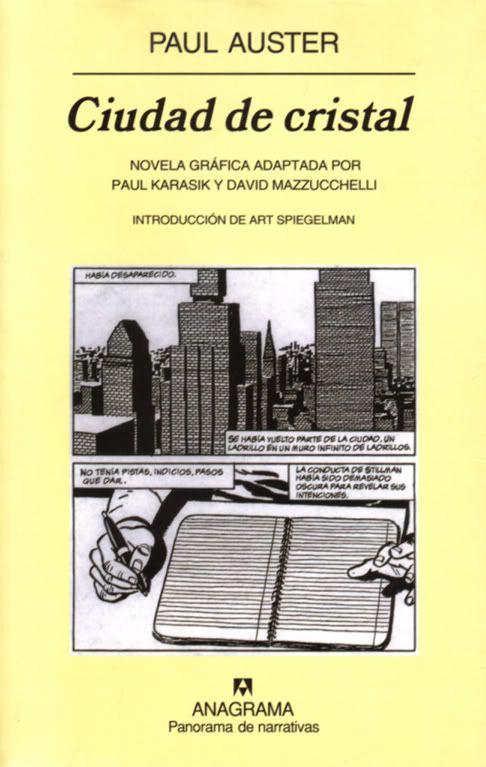Ciudad De Cristal Auster Novelas Novelas Gráficas