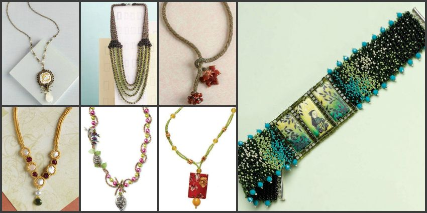 Free Beading Patterns You Have to Try Beads Bead necklaces and