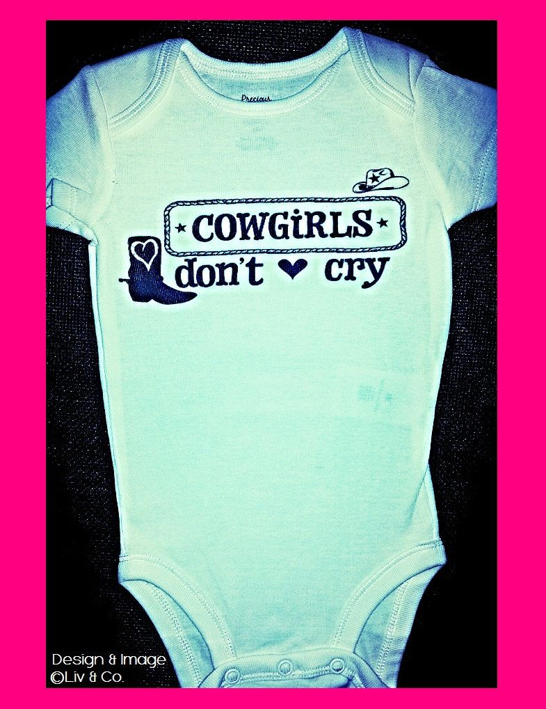 6996669b4 Cowgirl Baby Outfit Western Baby One Piece by LivAndCompanyShop, $16.00
