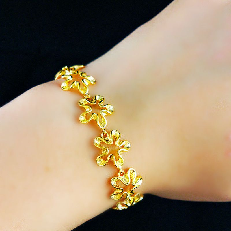 new deal b wholesale fashion pin gold bracelet arrival jewelry super font