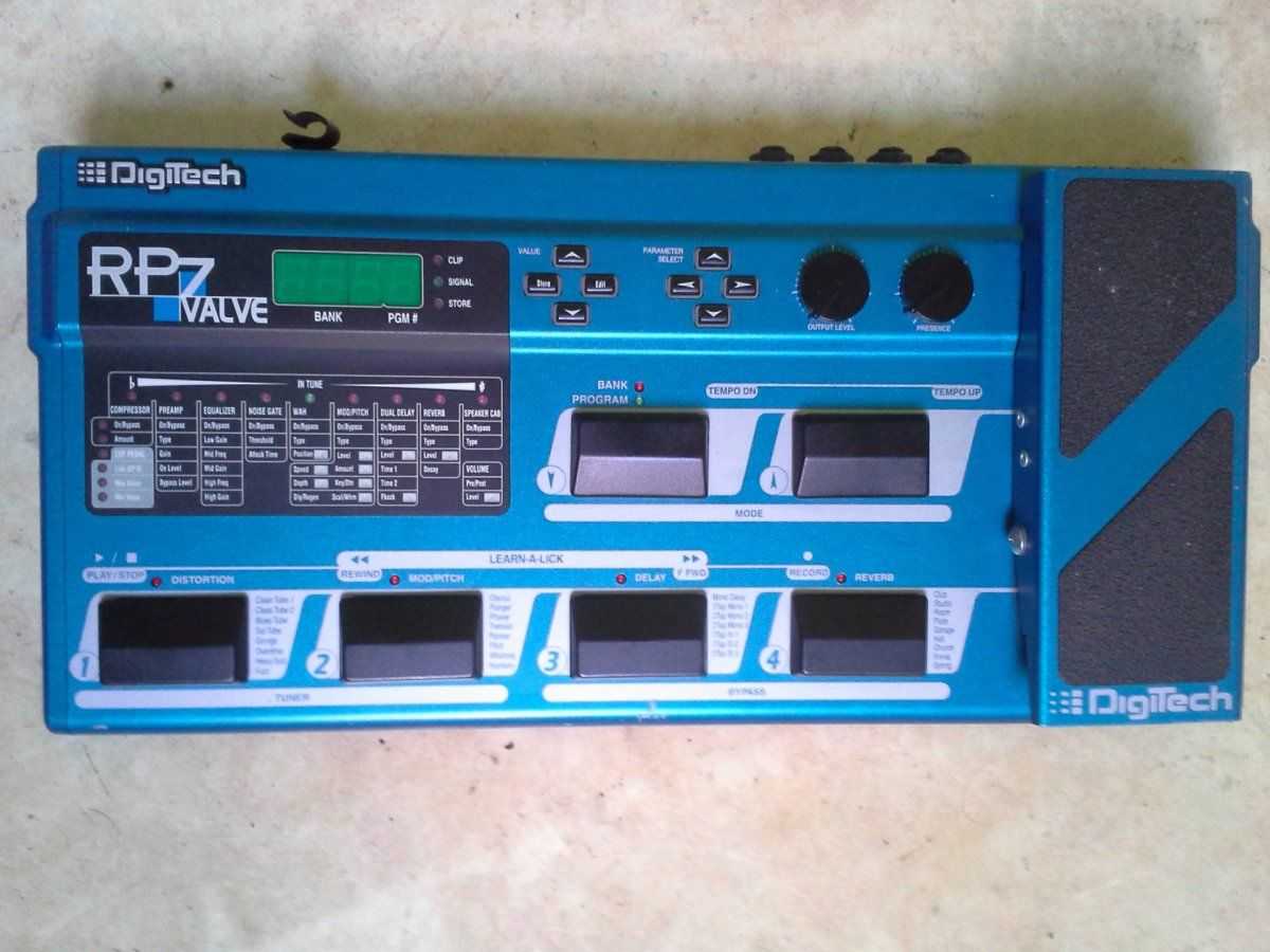 Digitech RP7 Valve