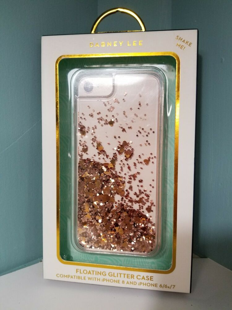 purchase cheap 21676 df7b3 DABNEY LEE FLOATING GLITTER CASE COMPATIBLE WITH iPHONE 8 and iPHONE ...