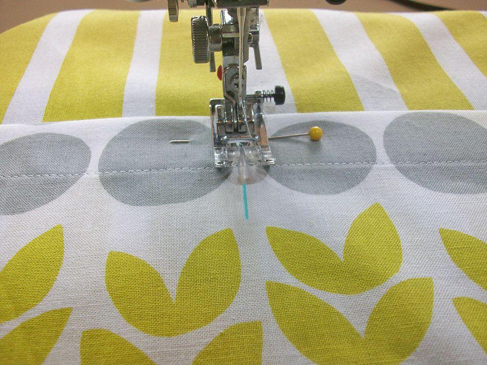 Easy Half Apron with Jumbo Pockets | Sew4Home