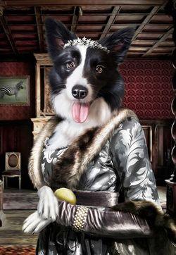 Mini Pompous Pets Pet Portraits Dog Portraits Animal Portraits Art
