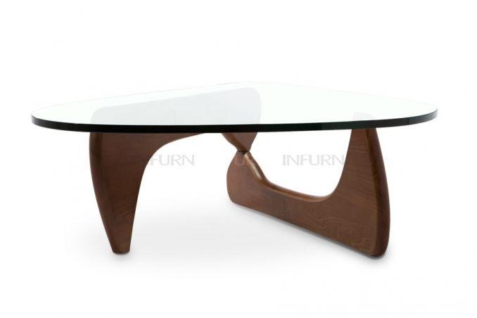 isamu noguchi table basse 250 e en 15mm oe livraison largeur 90 cm hauteur 40 cm longueur 125 cm