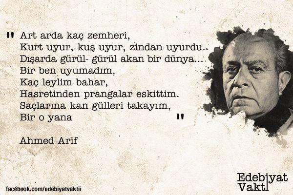 Ahmed Arif için 50+ fikir | şiir, edebiyat, özlü sözler