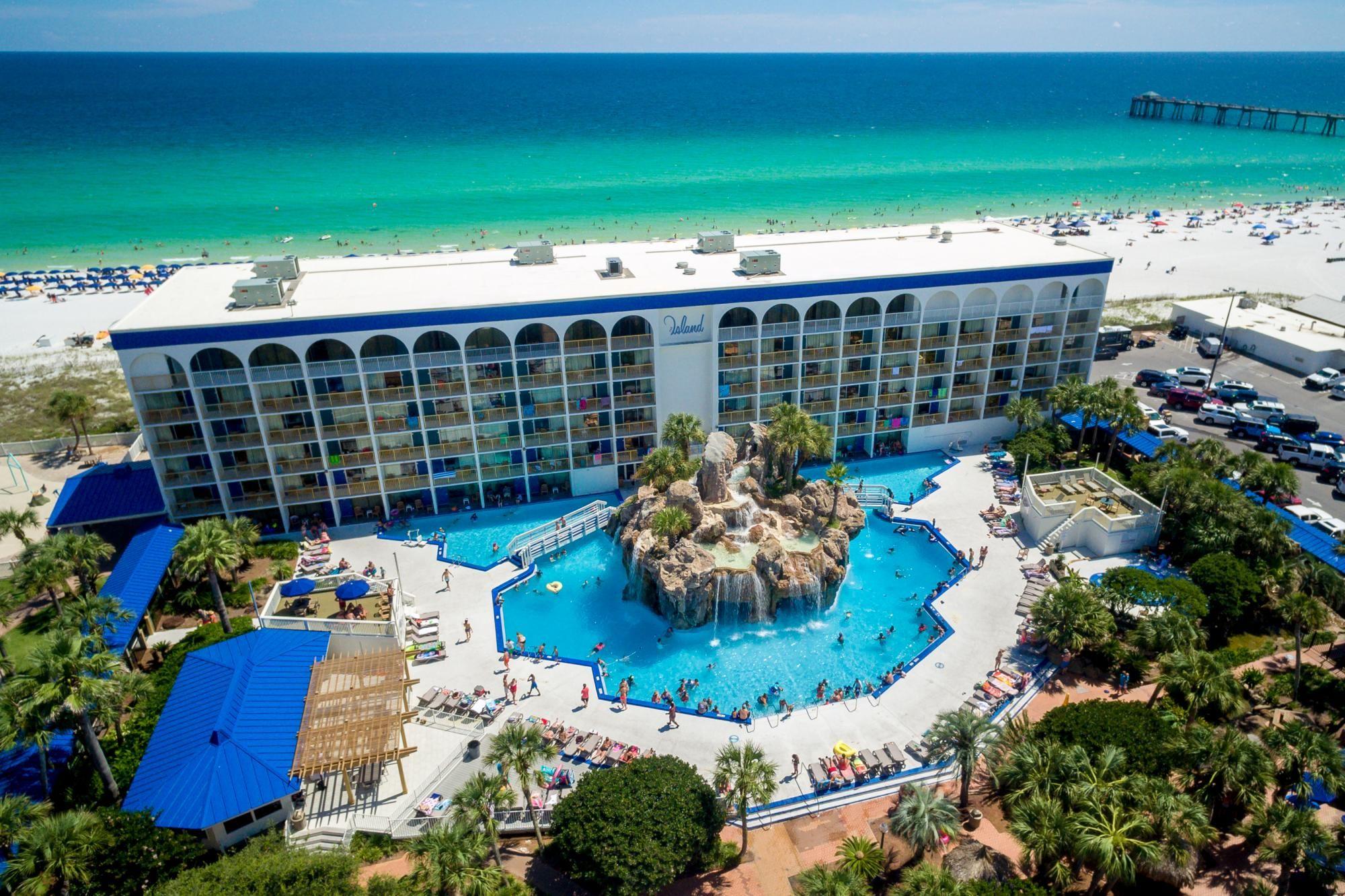 The Island Ft Walton Destin By Hotel Rl Hotel In Fort Walton Fl 32548 Red Lion Hotels Florida Hotels Best Resorts Beachfront Hotels