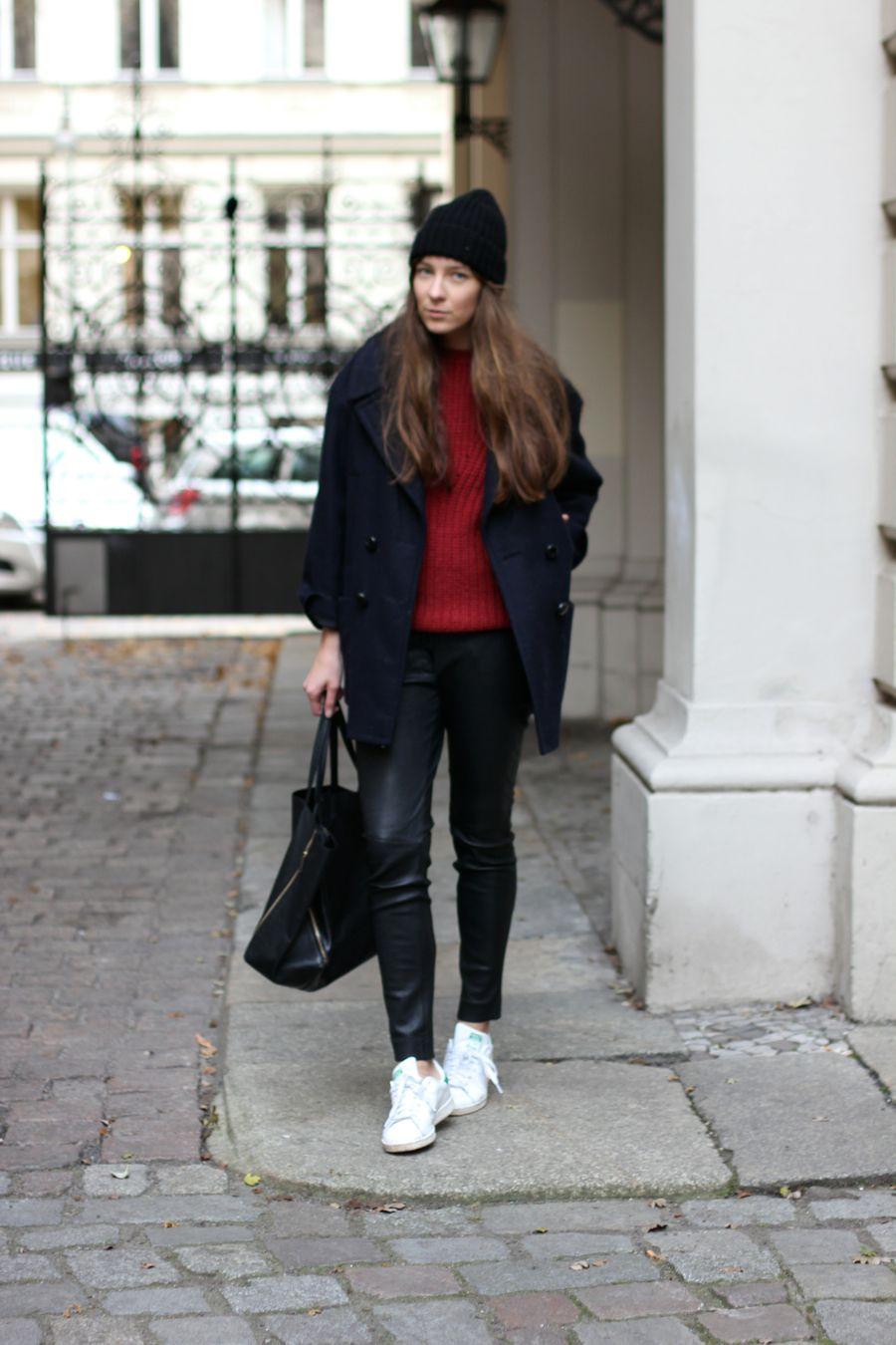 #street #style #black #red