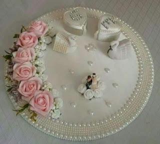 اعمال يدوية بسيطة افكار رائعة لديكورات و طريقه تزيين صينية الشبكه بالخطوات والخطوات لت Wedding Gifts Packaging Engagement Ring Platter Creative Wedding Gifts
