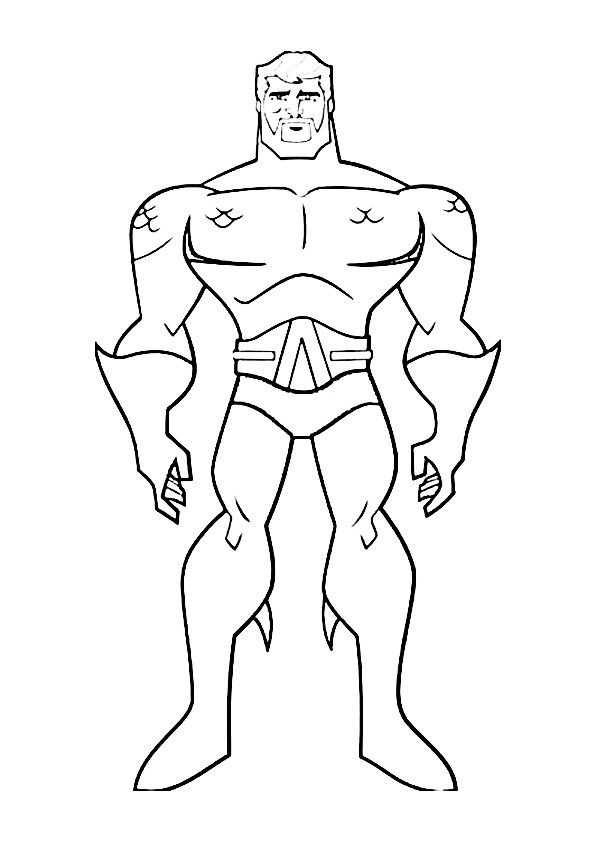 Summary -> Justice League Coloring Pages Getcoloringpagescom