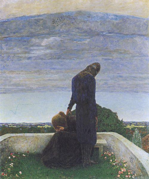 Farewell - Heinrich Vogeler    1898
