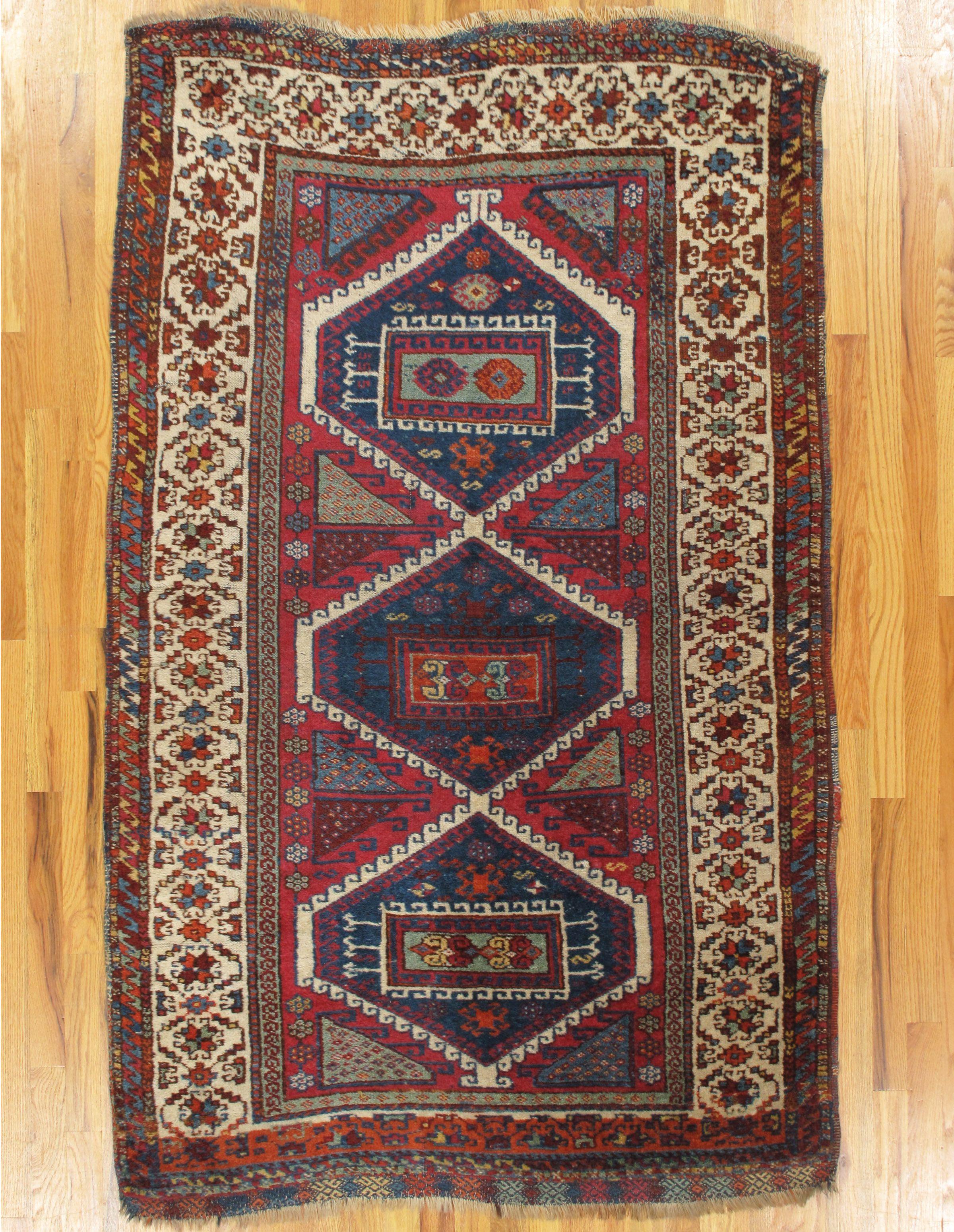 Yuruk Rug From Eastern Turkey Age Circa 1880 Size 6 4