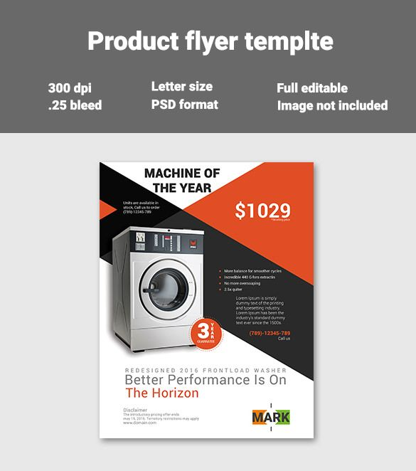 Product Flyer Templates PSD Designs Free Premium - Free marketing brochure templates
