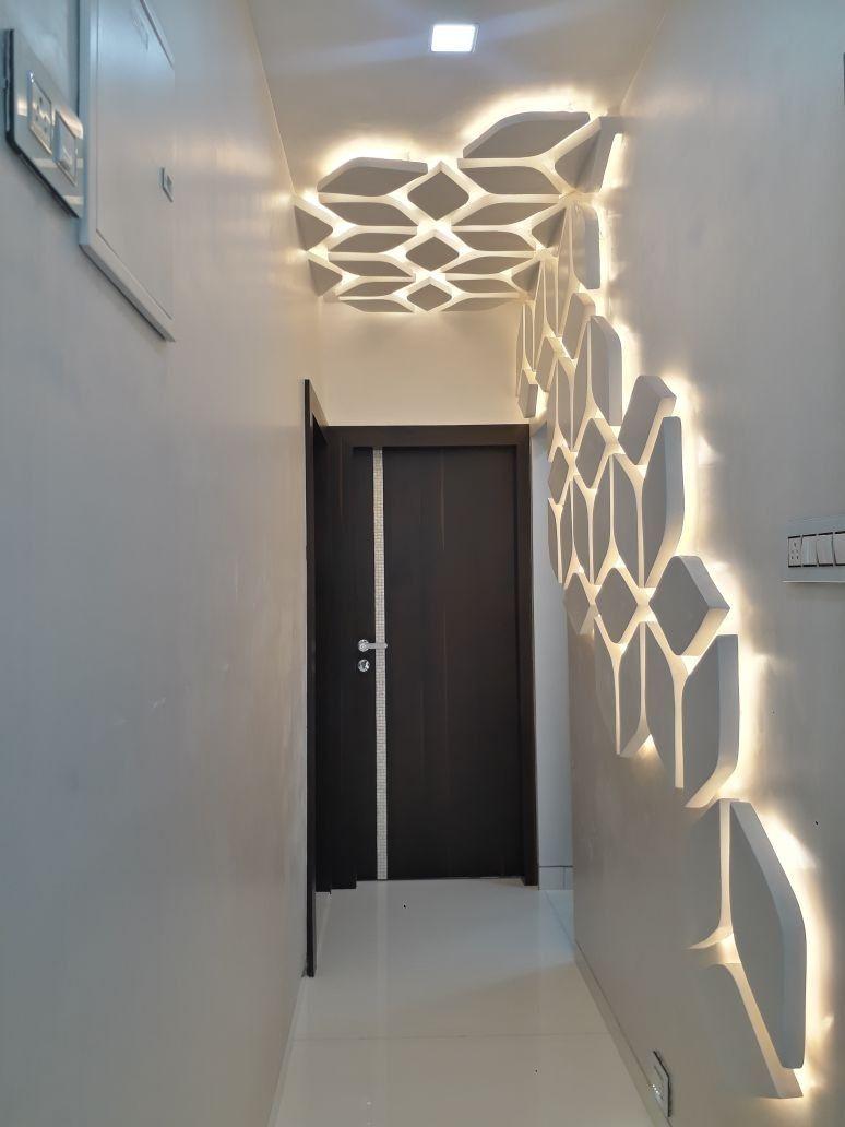Lobby Illumination Ceiling Design Modern Ceiling Design Living