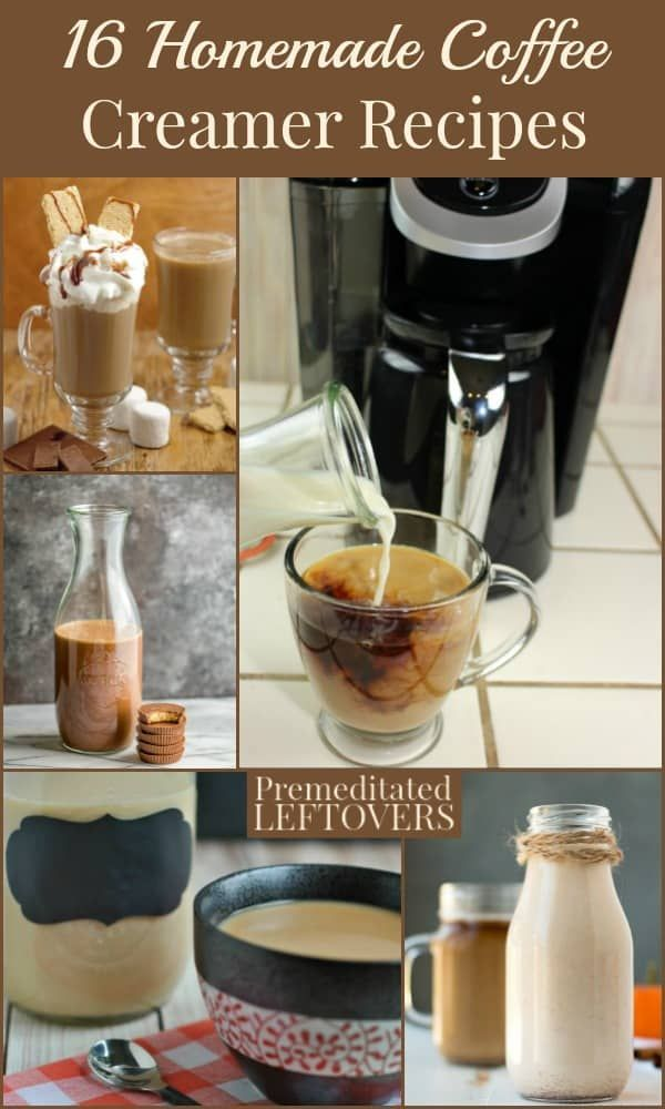 You can save money and still have a delicious cup of coffee every morning with these 16 homemade coffee creamer recipes. Everything from classic flavors like French vanilla and pumpkin spice creamers to fun new twists like snickerdoodle flavored and creme brulee creamer. You'll be amazed by how easy they are to make! #frenchvanillacreamerrecipe