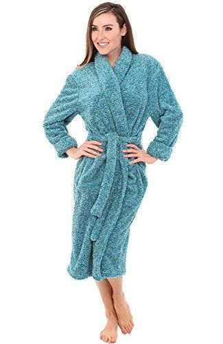 Alexander Del Rossa Womens Fleece Robe 427a099fa