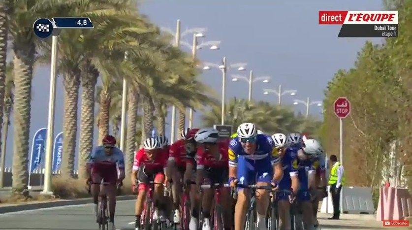 VIDEO Tour de Dubai étape 1  https://todaycycling.com/video-tour-de-dubai-2018-etape-1/