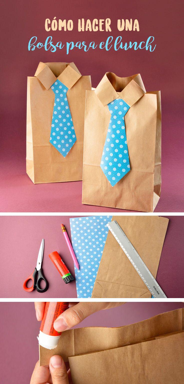 Cómo hacer una bolsa para el lunch