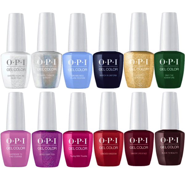OPI GelColor Winter 2018 The Nutcracker Collection Set Of 12 in 2019 ...