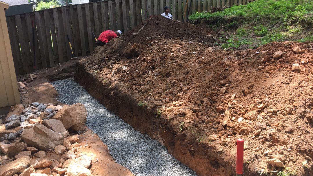 Choosing Good Drainage Solutions Backyard Idea | Drainage ...