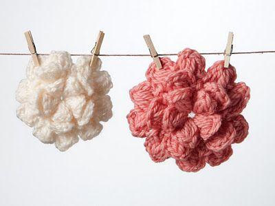 Crochet Flowers Free Pattern