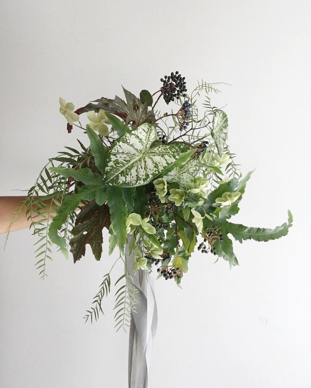 These All Greenery Wedding Bouquets Are Perfect For The Non