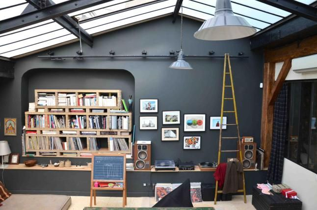 former workshop converted into a loft apartment