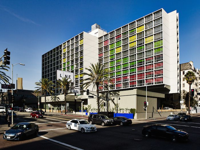 The Line Hotel Los Angeles the line hotel in los angeles' bustling and multicultural
