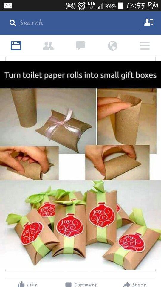Diy small christmas boxes