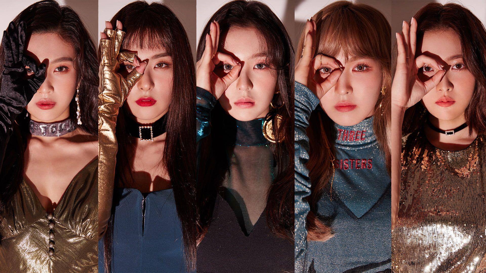 K Pop Redvelvet Collage Women Asian Face 1080p Wallpaper Hdwallpaper Desktop In 2020 Red Velvet Photoshoot Velvet Wallpaper Face