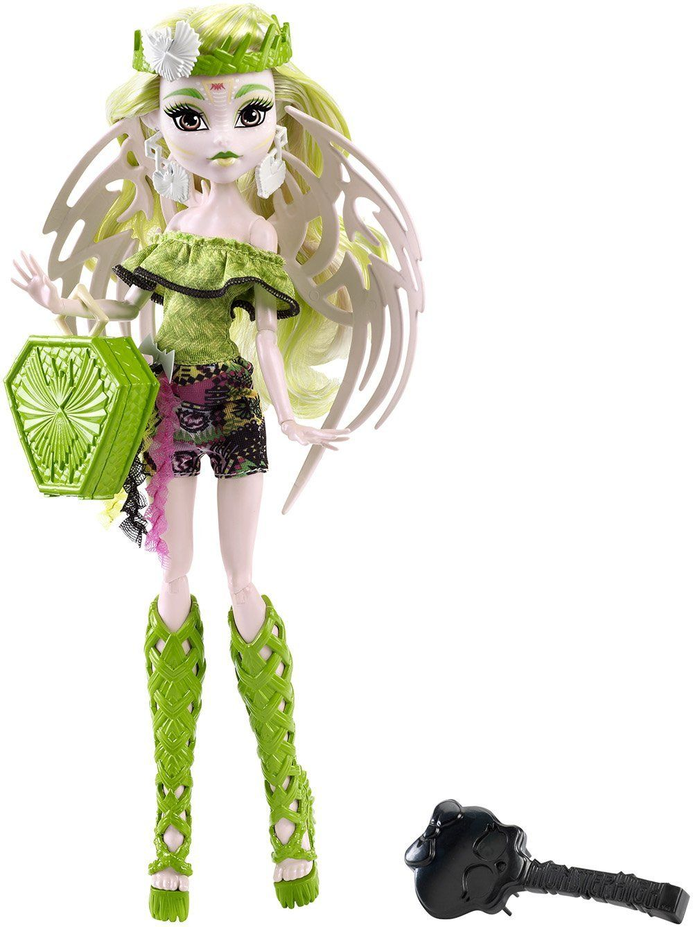 Amazon.com: Monster High Brand-Boo Students Batsy Claro Doll: Toys & Games