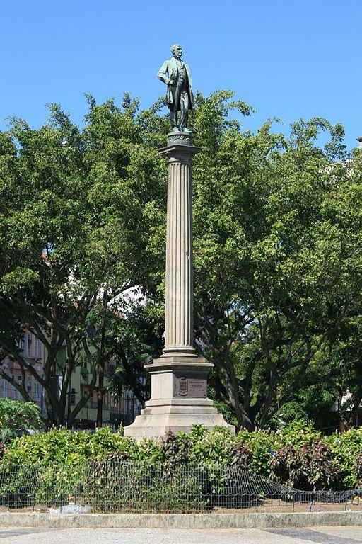 Monumento ao Visconde de Mauá na Praça Mauá, Rio de Janeiro. - Irineu Evangelista de Sousa